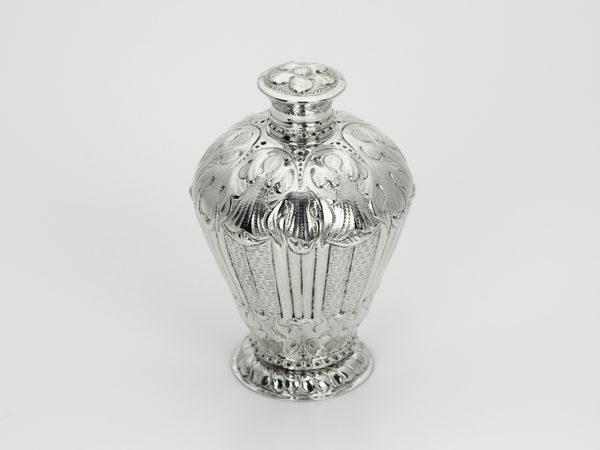 Zilveren theebus uit 1712 (Middelburg)-0